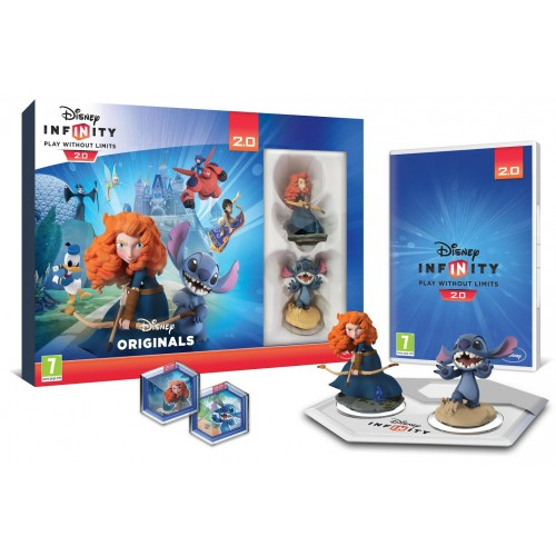 Disney Infinity 2.0 Disney Originals Toy Box Starter Pack