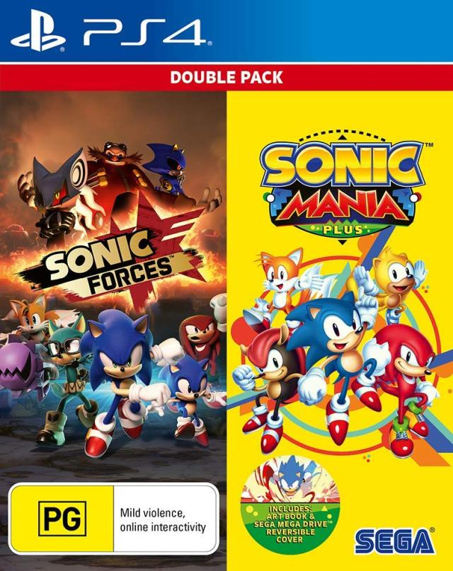 Sonic Forces & Sonic Mania Plus Double Pack