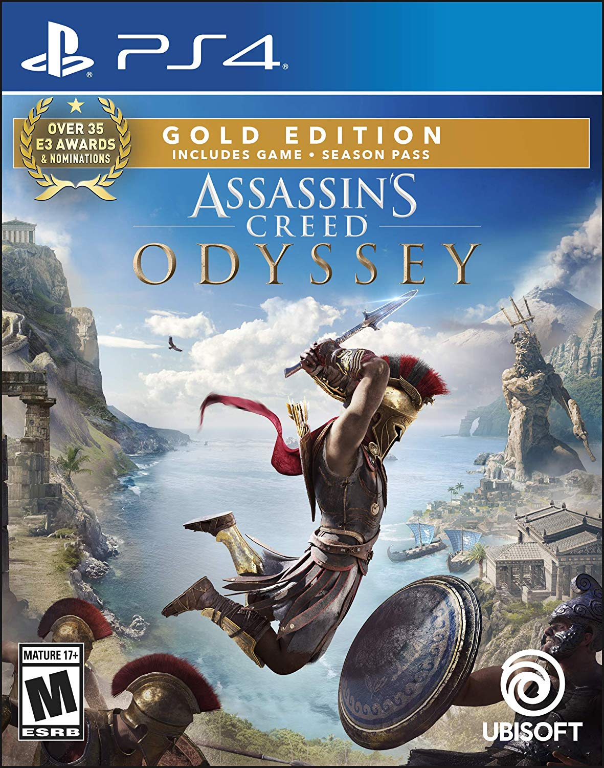 Assassins Creed Odyssey Gold Edition - PlayStation 4 Játékok