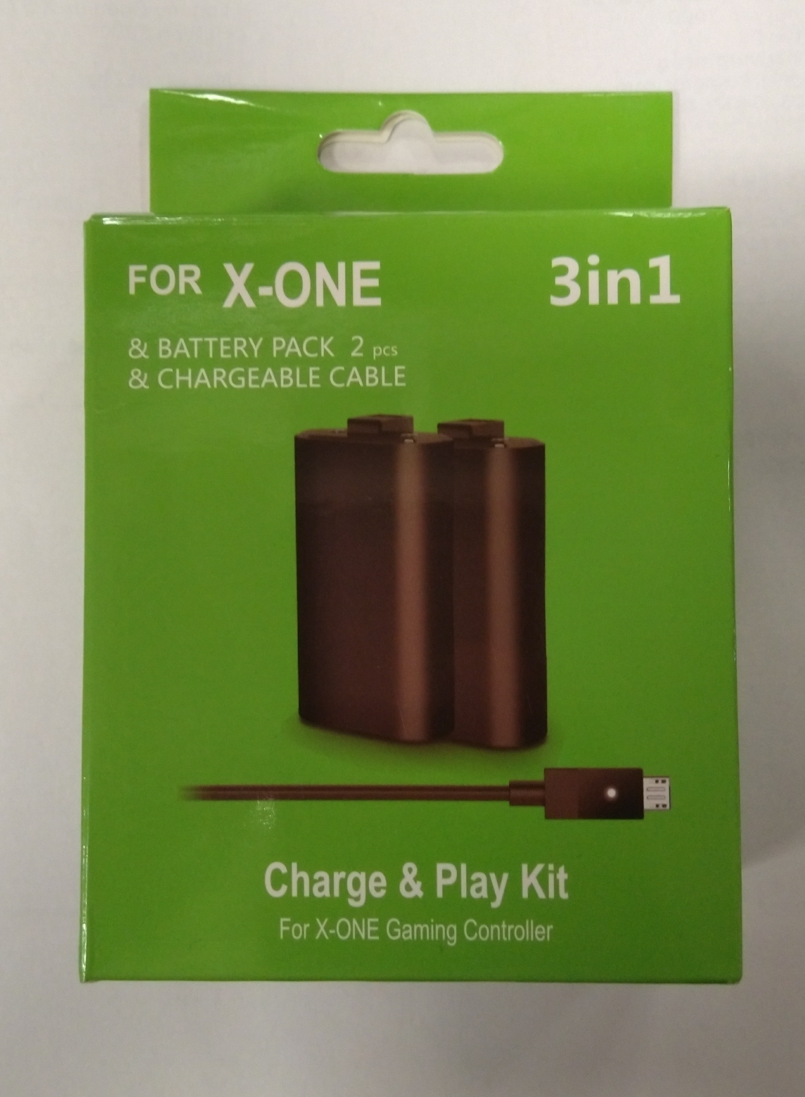 X-One Charge and Play Kit 3in1 2800mAh OEM