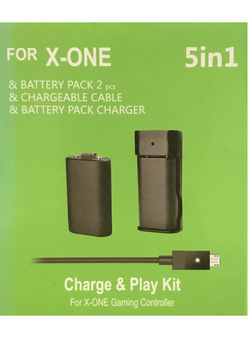 X-One Charge and Play Kit 5in1 1400mAh OEM