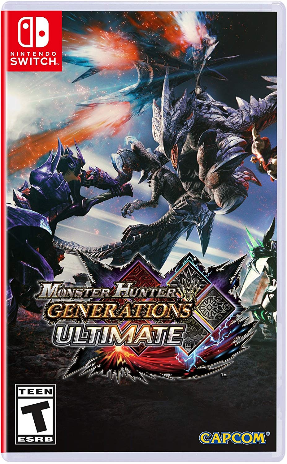 Monster Hunter Generation Ultimate - Nintendo Switch Játékok