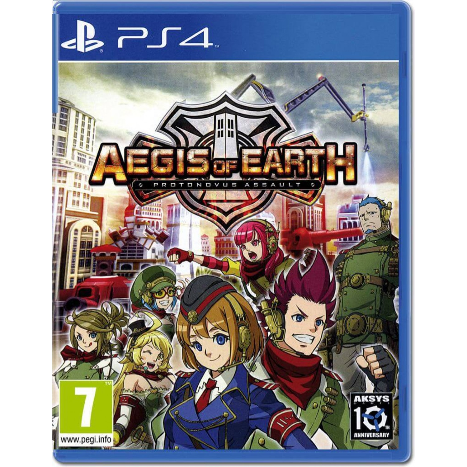 Aegis of Earth Protonovus Assault - PlayStation 4 Játékok