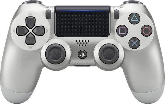 Sony Playstation 4 Dualshock 4 Wireless Controller Silver