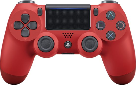 Sony Playstation 4 Dualshock 4 Wireless Controller Magma Red (Refurbished/felújított)