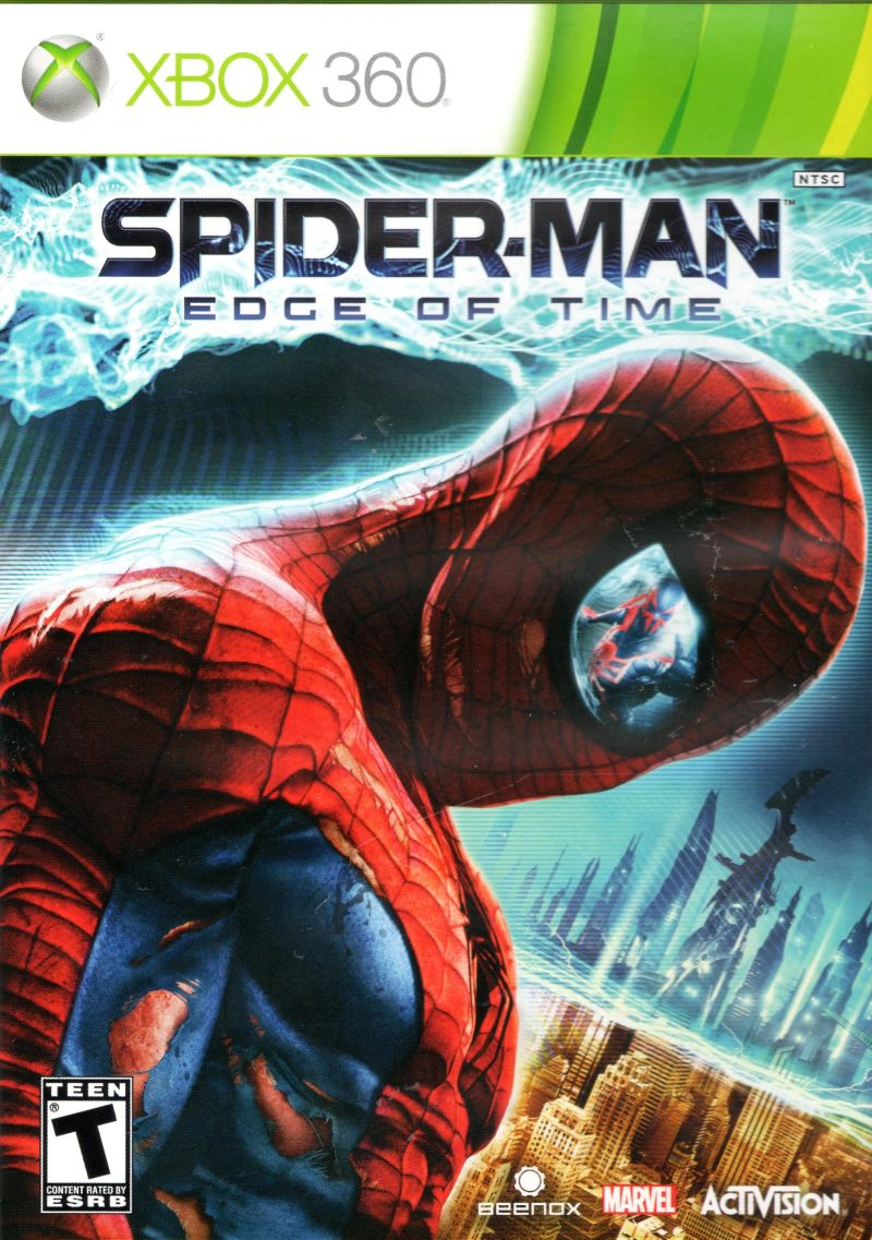 Spider Man Edge of Time - Xbox 360 Játékok