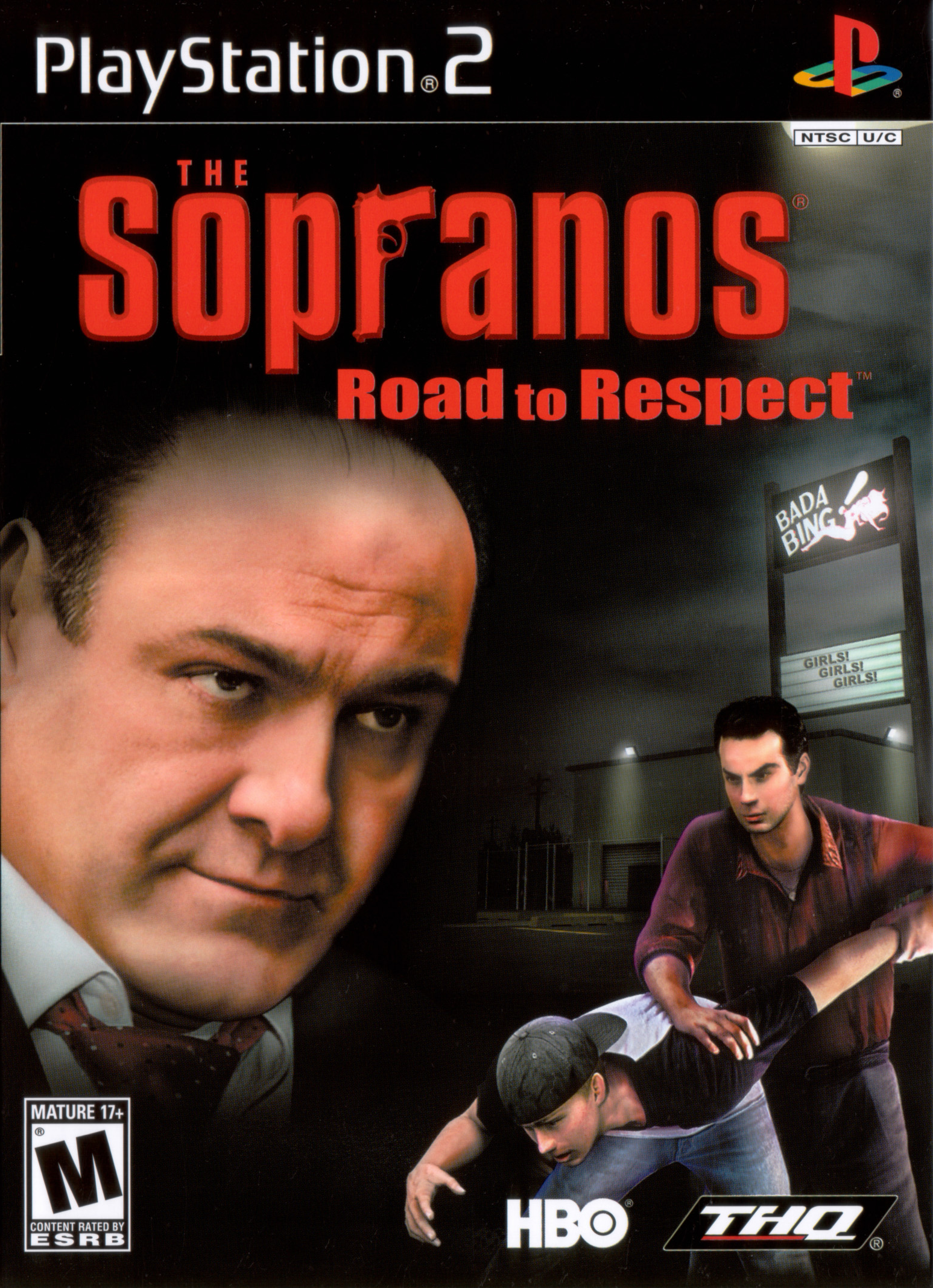 The Sopranos Road to Respect - PlayStation 2 Játékok