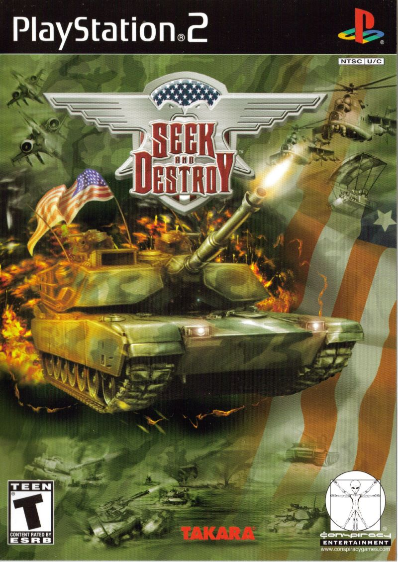 Seek and Destroy - PlayStation 2 Játékok