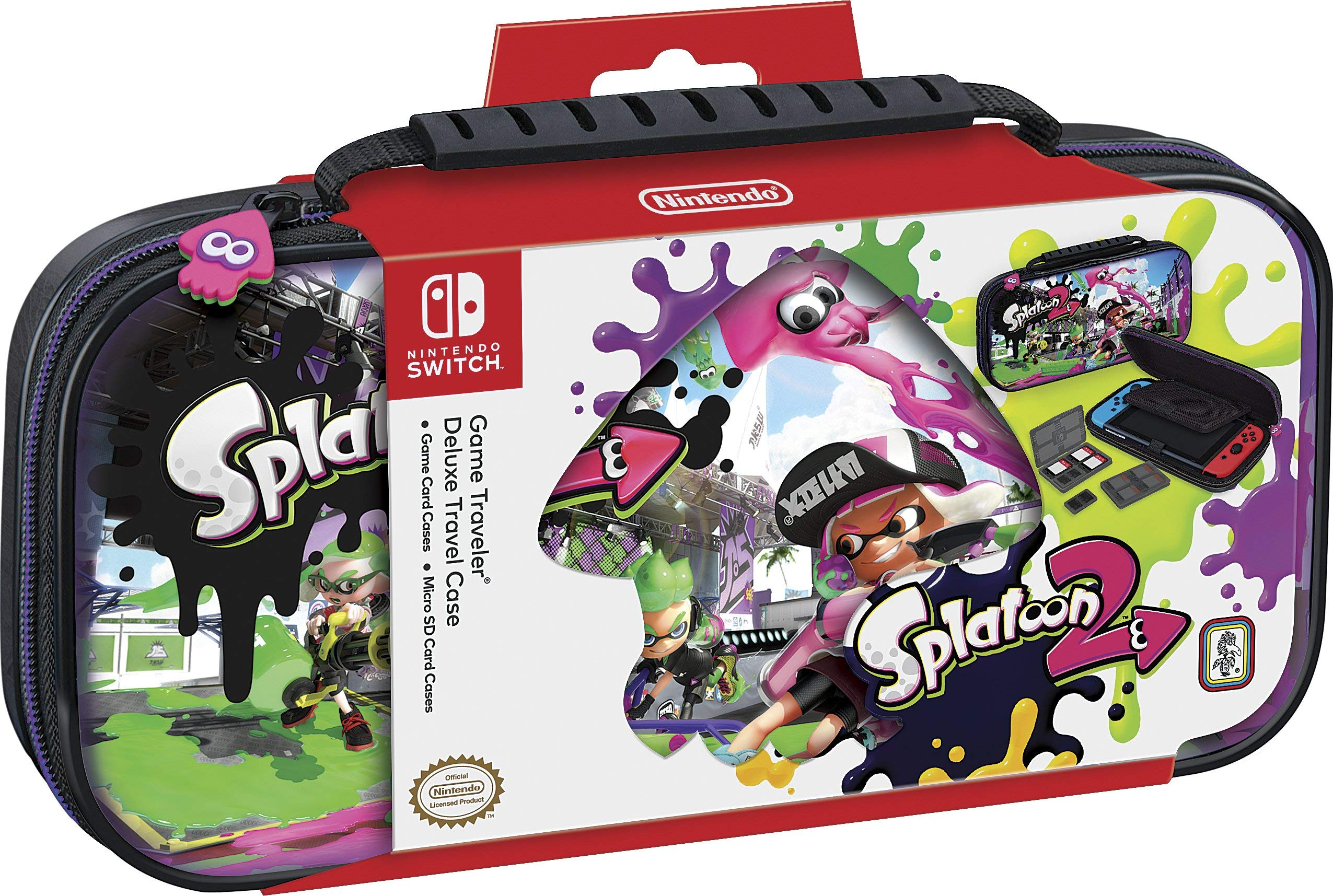 Splatoon 2 Nintendo Switch Travel Case