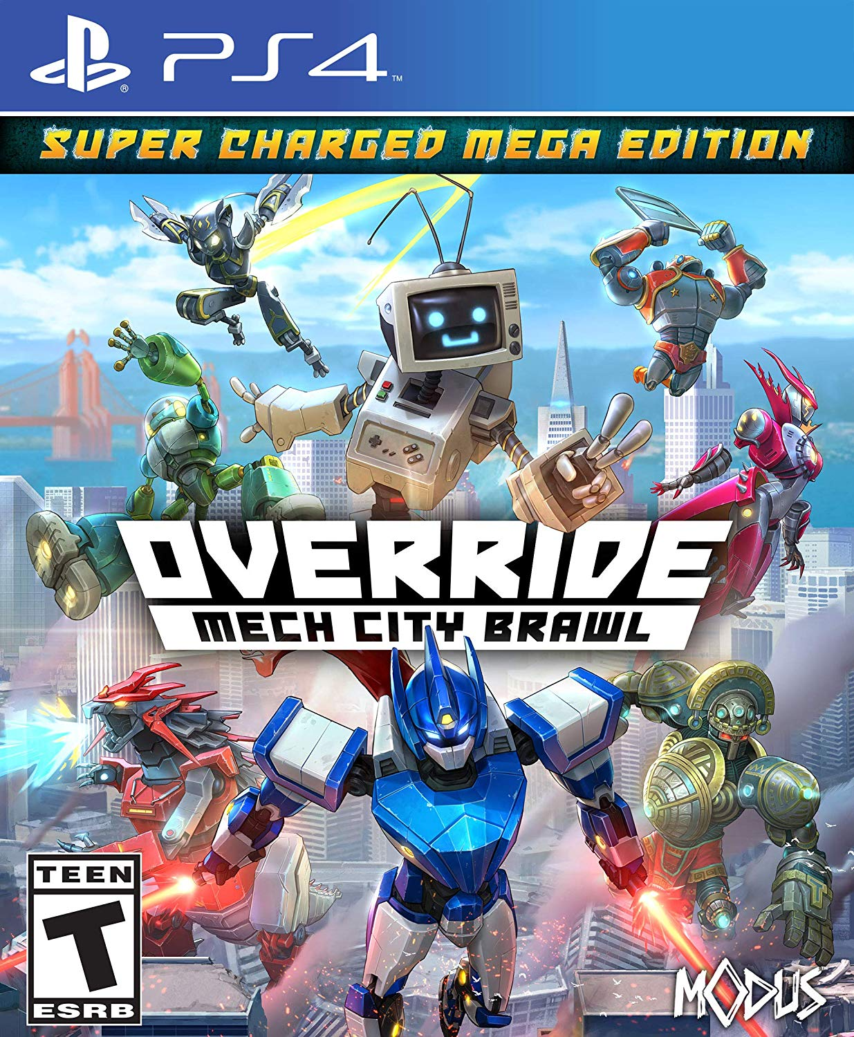 Override Mech City Brawl Super Charged Mega Edition