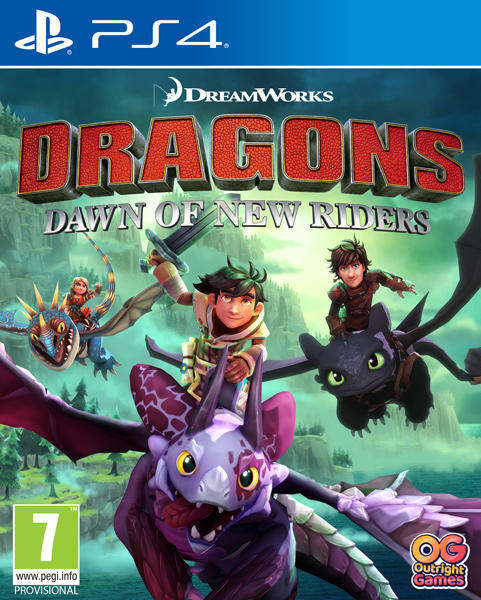 DreamWorks Dragons Dawn of New Rides