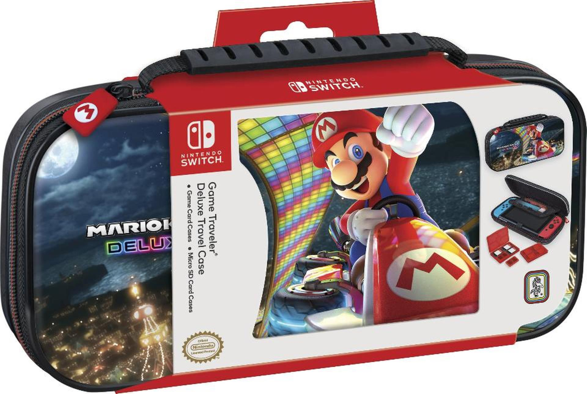 Mario Kart 8 Deluxe Nintendo Switch Travel Case