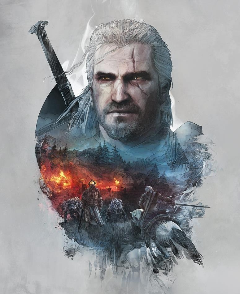 The Witcher 3 - Geralt Steelbook Edition