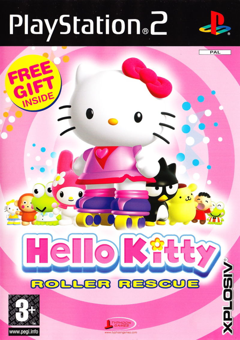 Hello Kitty Roller Rescure