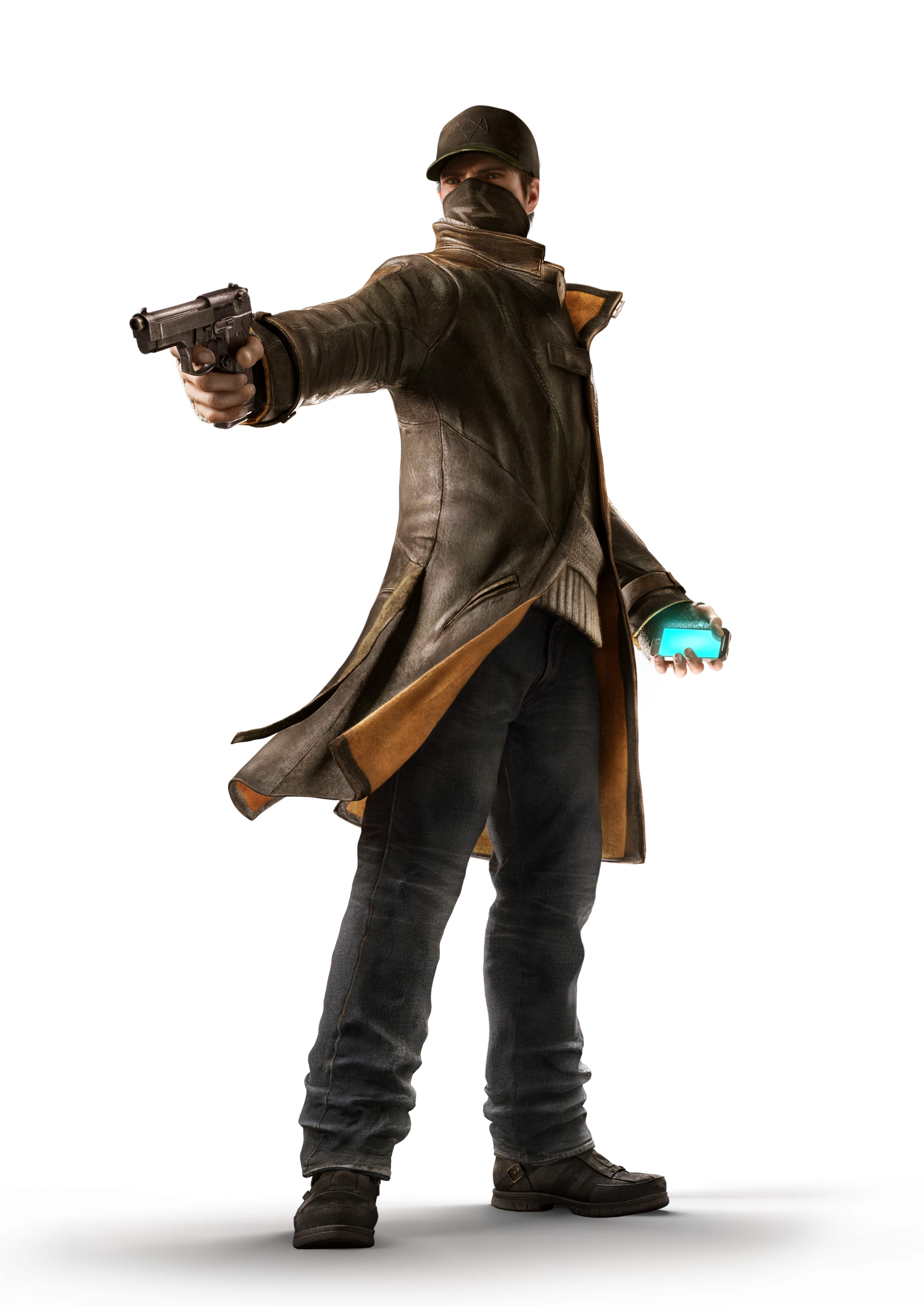 Watch Dogs Aiden Pearce Figura (Hibás)