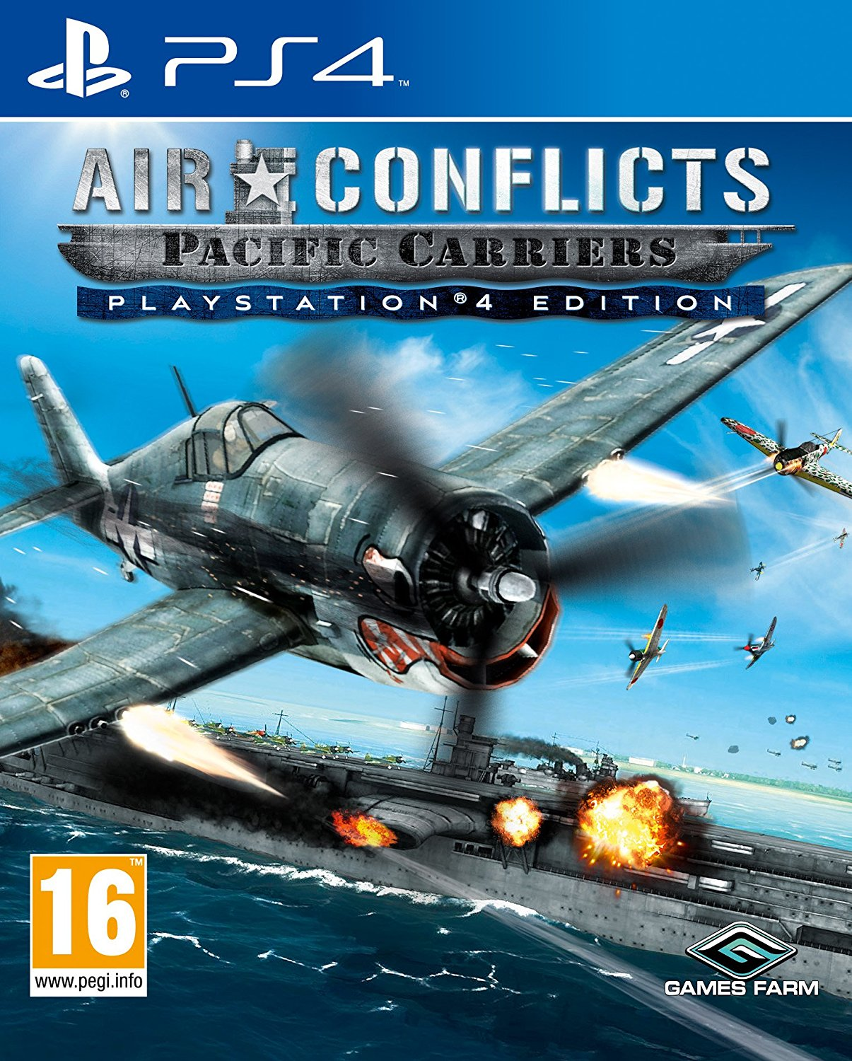 Air Conflicts Pacific Carriers - PlayStation 4 Játékok