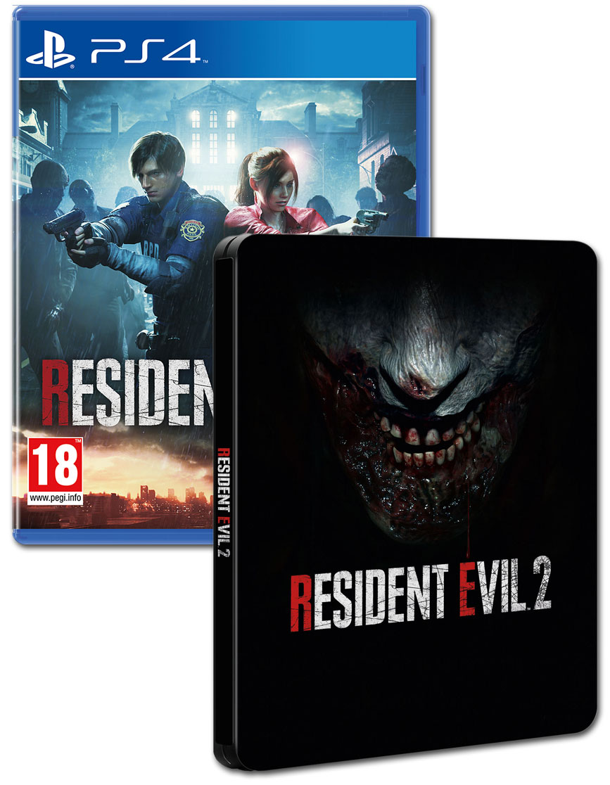 Resident Evil 2 Steelbook Edition (2019)