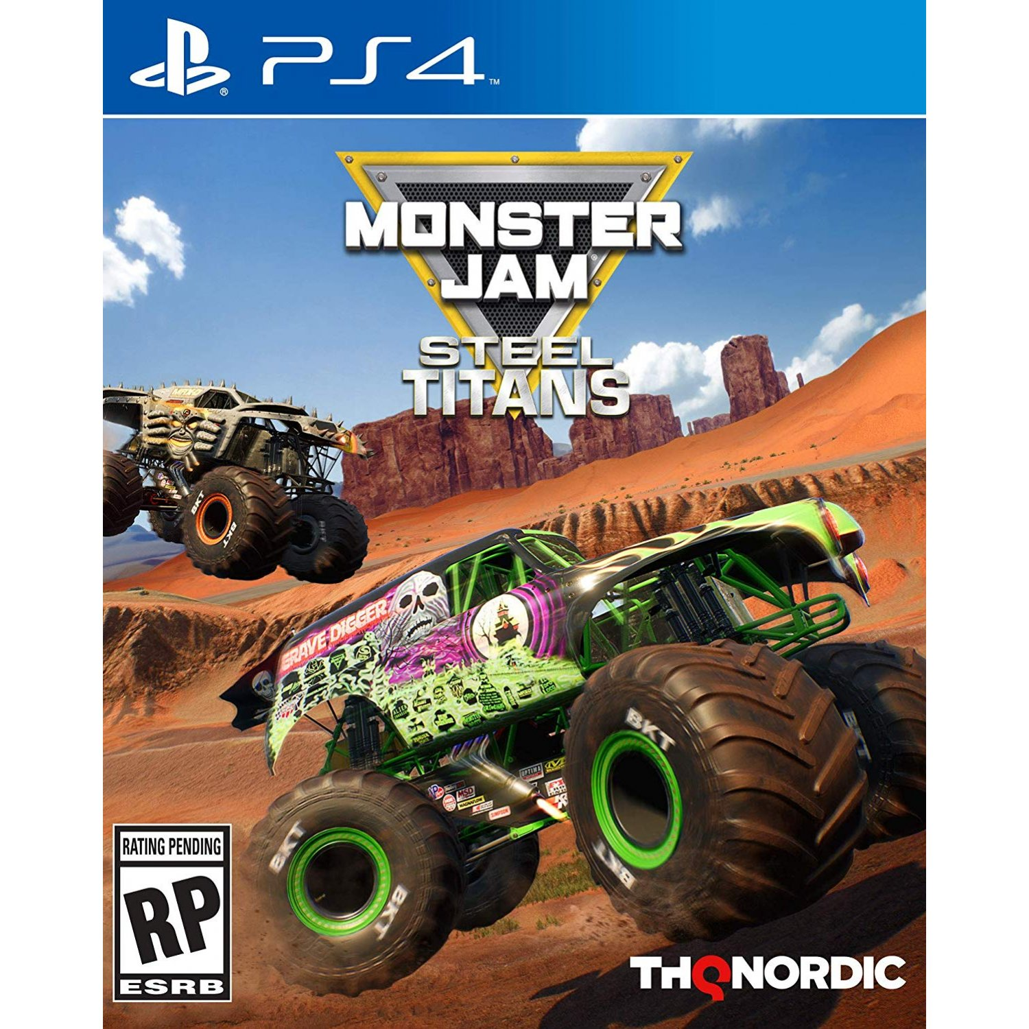 Monster Jam Steel Titans - PlayStation 4 Játékok