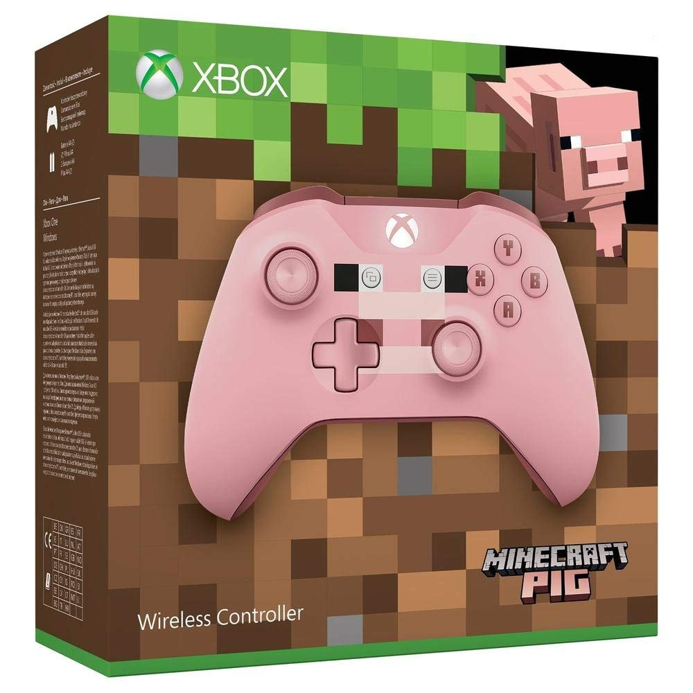 Xbox One Wireless Controller  Minecraft Pig