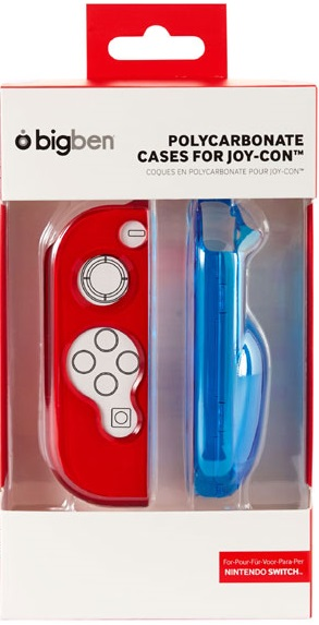 Polycarbonate Cases Joy-Con Blue/Red