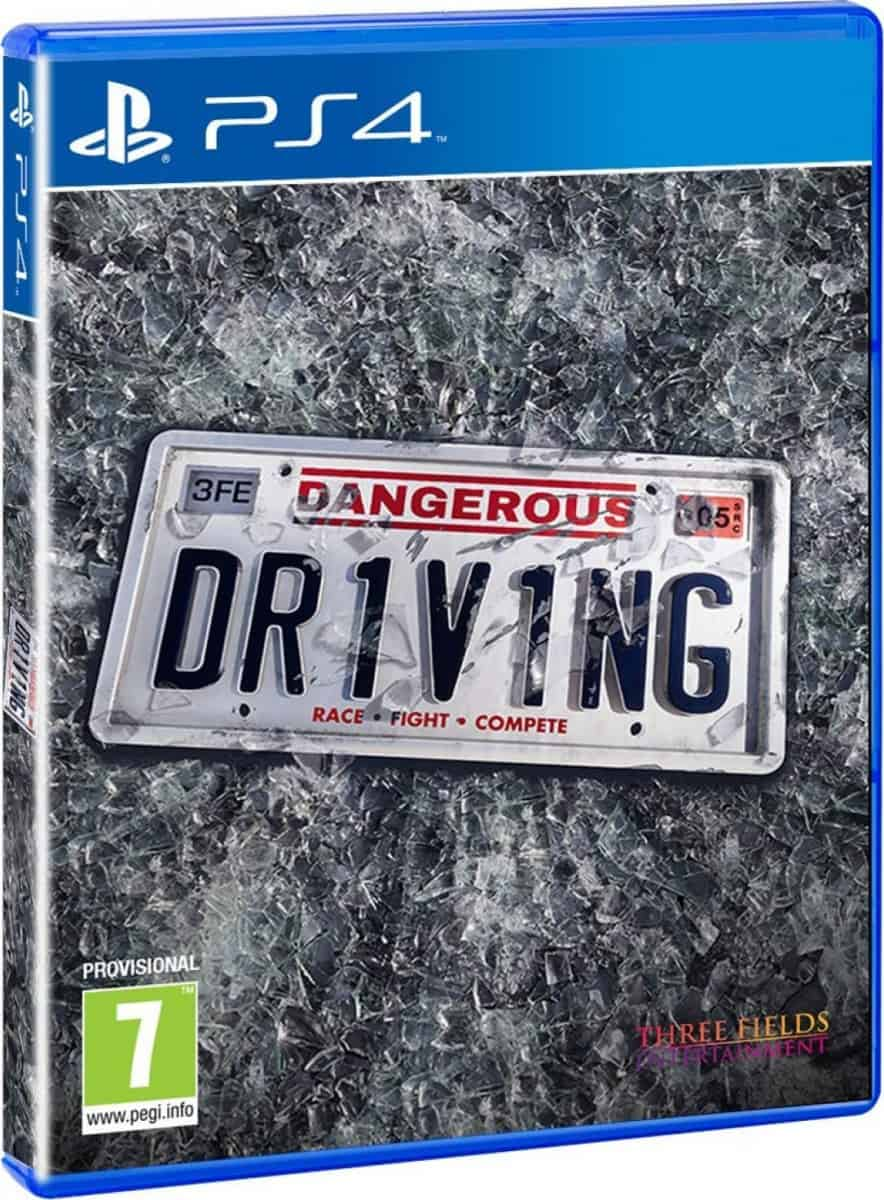 Dangerous Driving - PlayStation 4 Játékok
