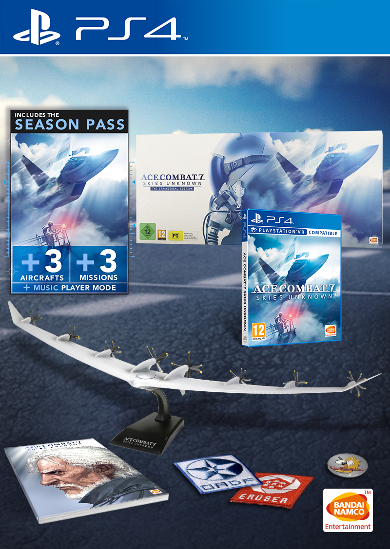 Ace Combat 7 Skies Unknown The Strangereal Edition - PlayStation 4 Játékok