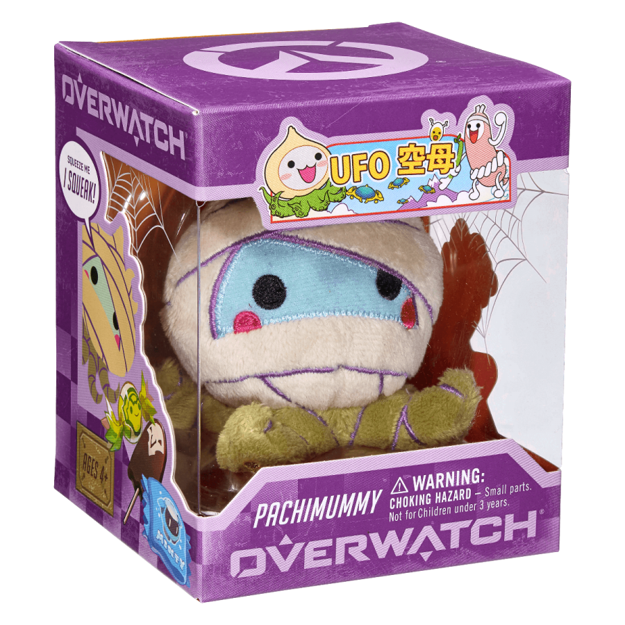 Overwatch Mini Pachimari Plush Hangers  Pachimummy