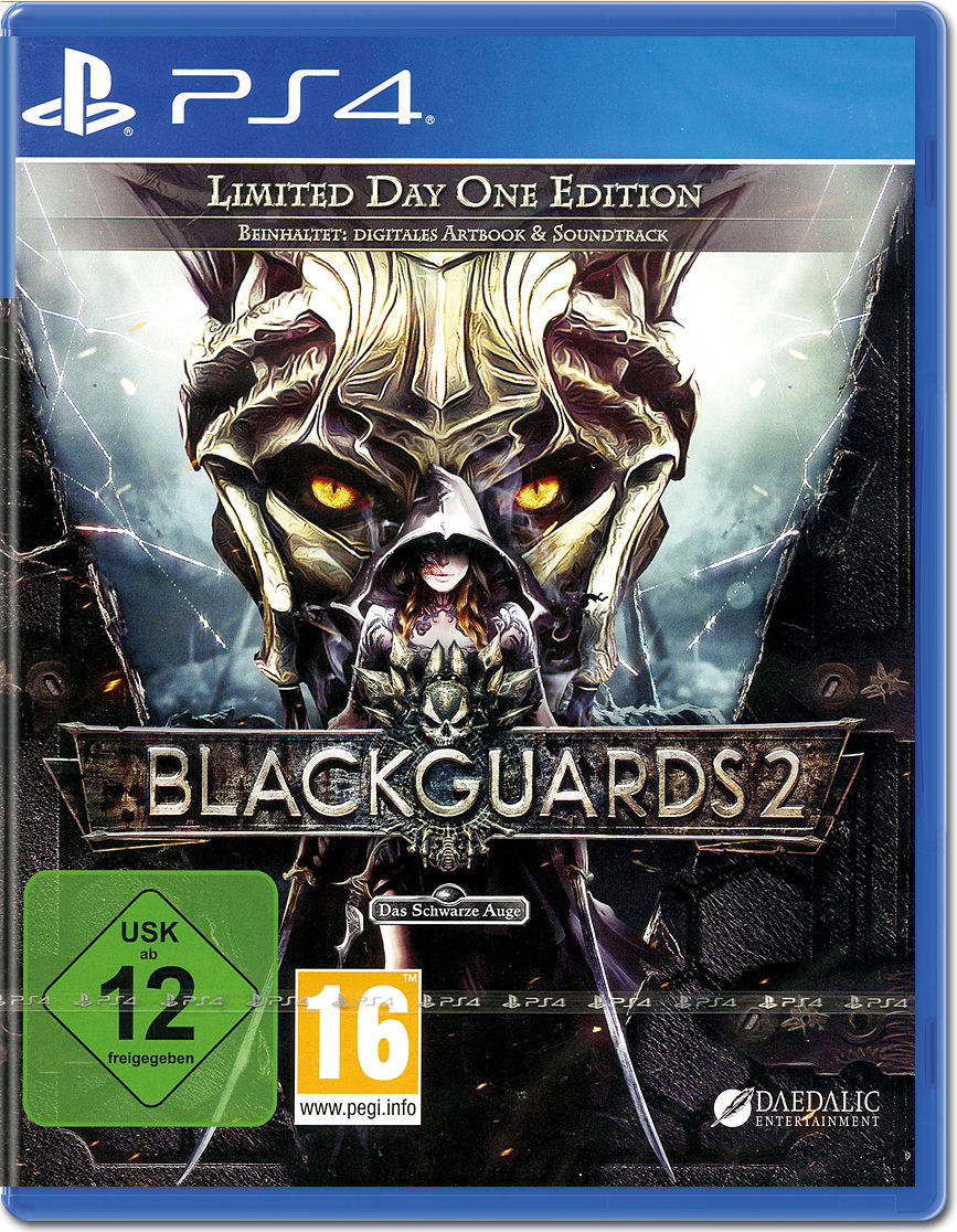 Blackguards 2 Limited Day One Edition - PlayStation 4 Játékok