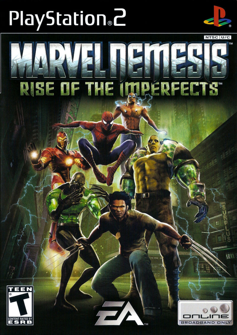 MARVEL Nemesis Rise of the Imperfect