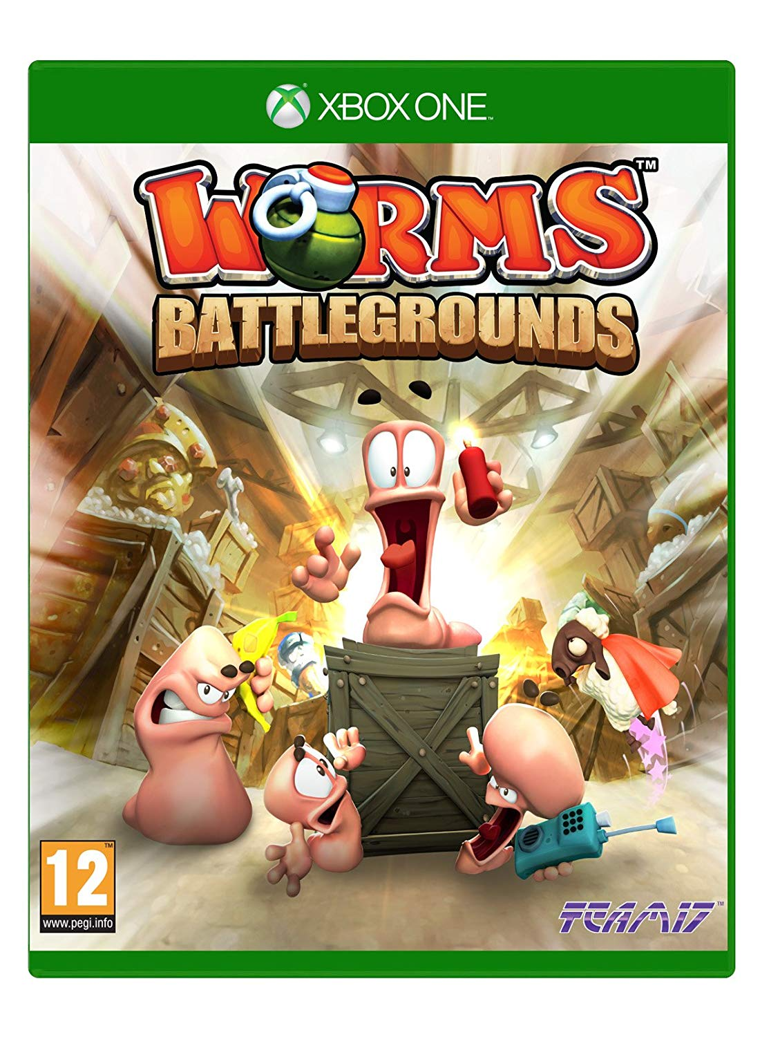Worms Battleground - Xbox One Játékok