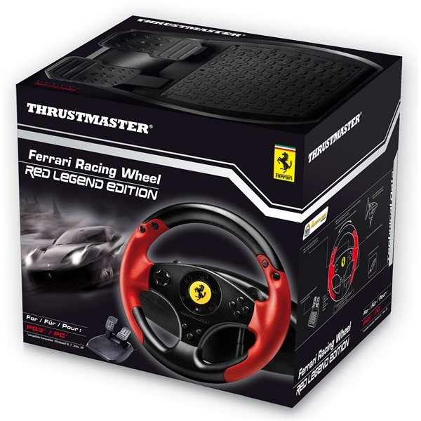 Thrustmaster Ferrari Racing Wheel Red Legend Edition - PlayStation 3 Kiegészítők