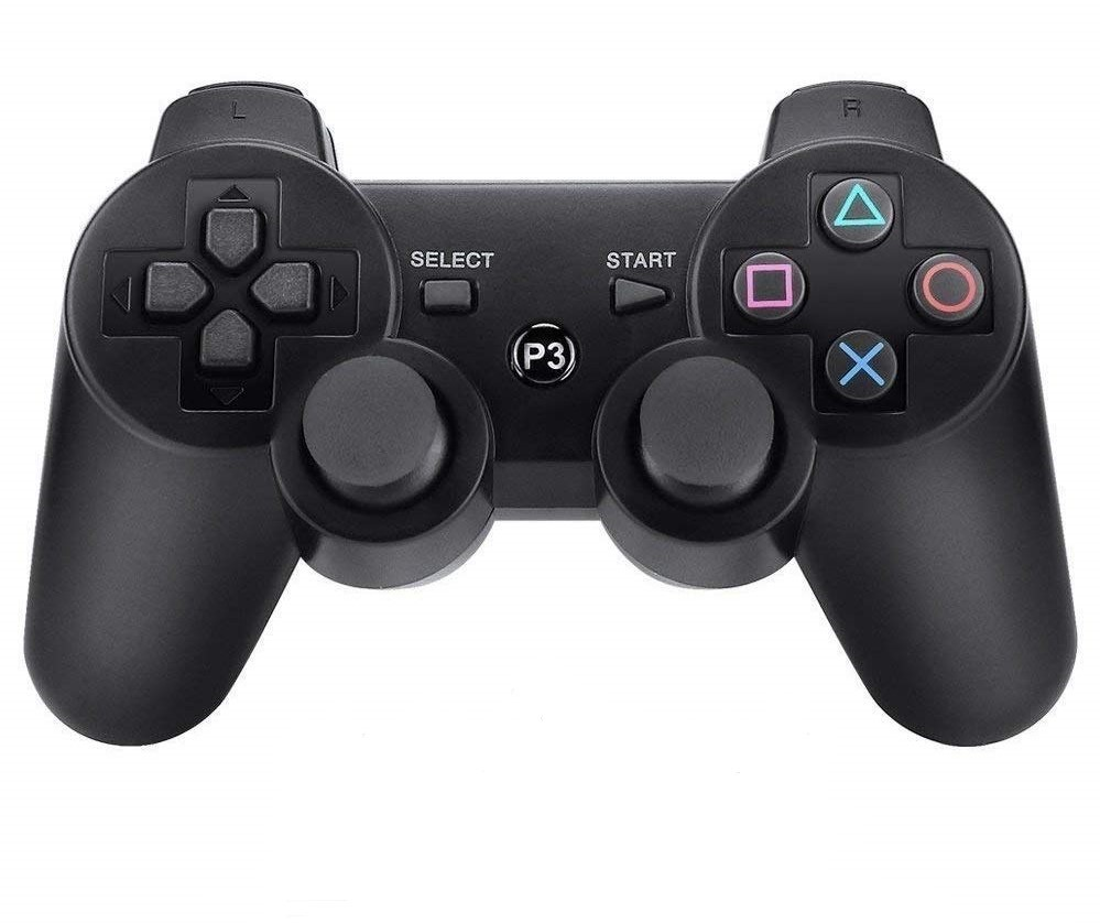 P3 PlayStation 3 Wireless Controller Fekete