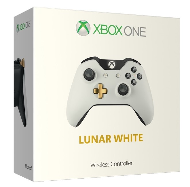 Xbox One Wireless Controller  Lunar White