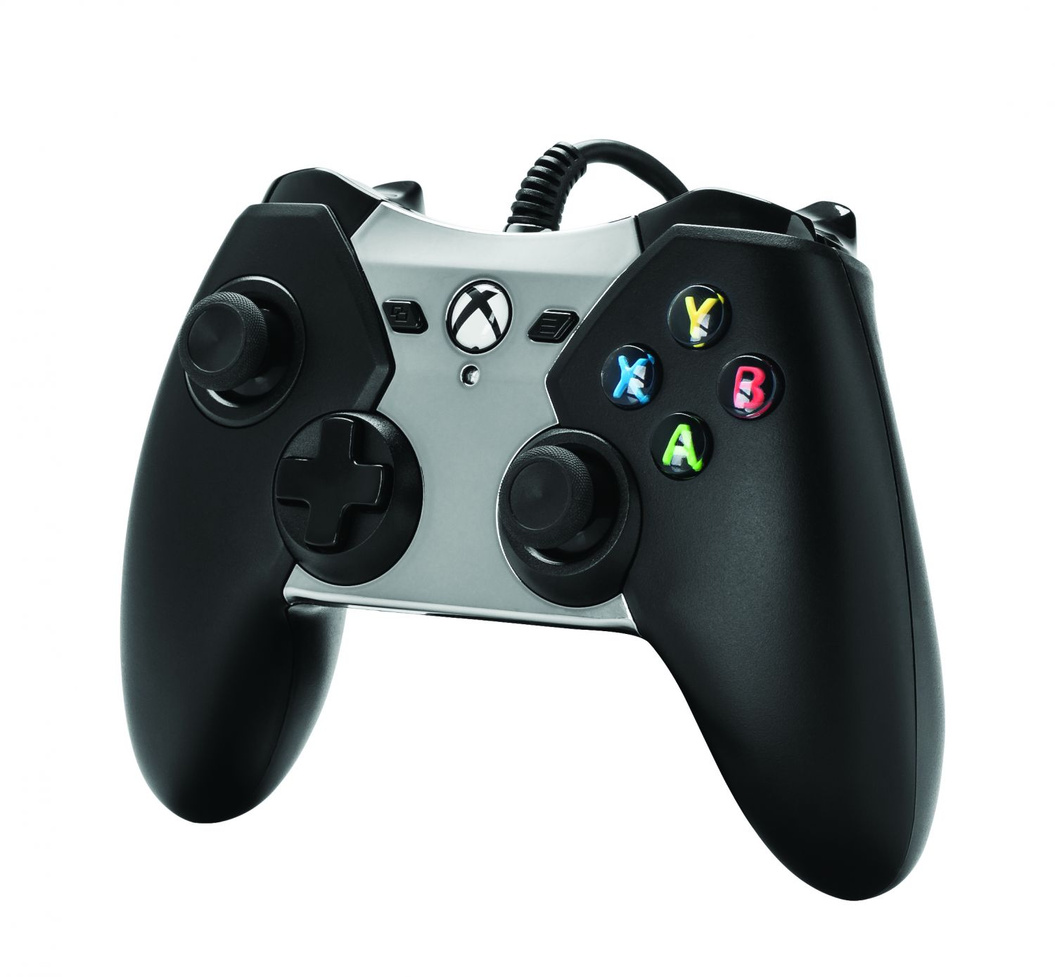 Power A Black/Silver Wired Controller for Xbox One