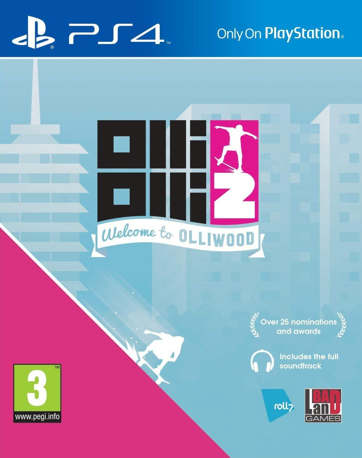 OlliOlli 2 Welcome To Olliwood