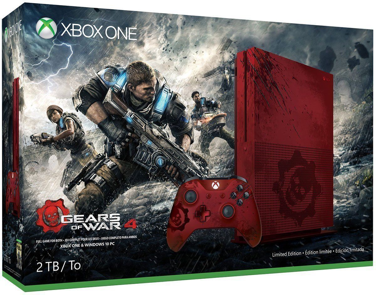Xbox One S Gears of War 4 2TB Bundle
