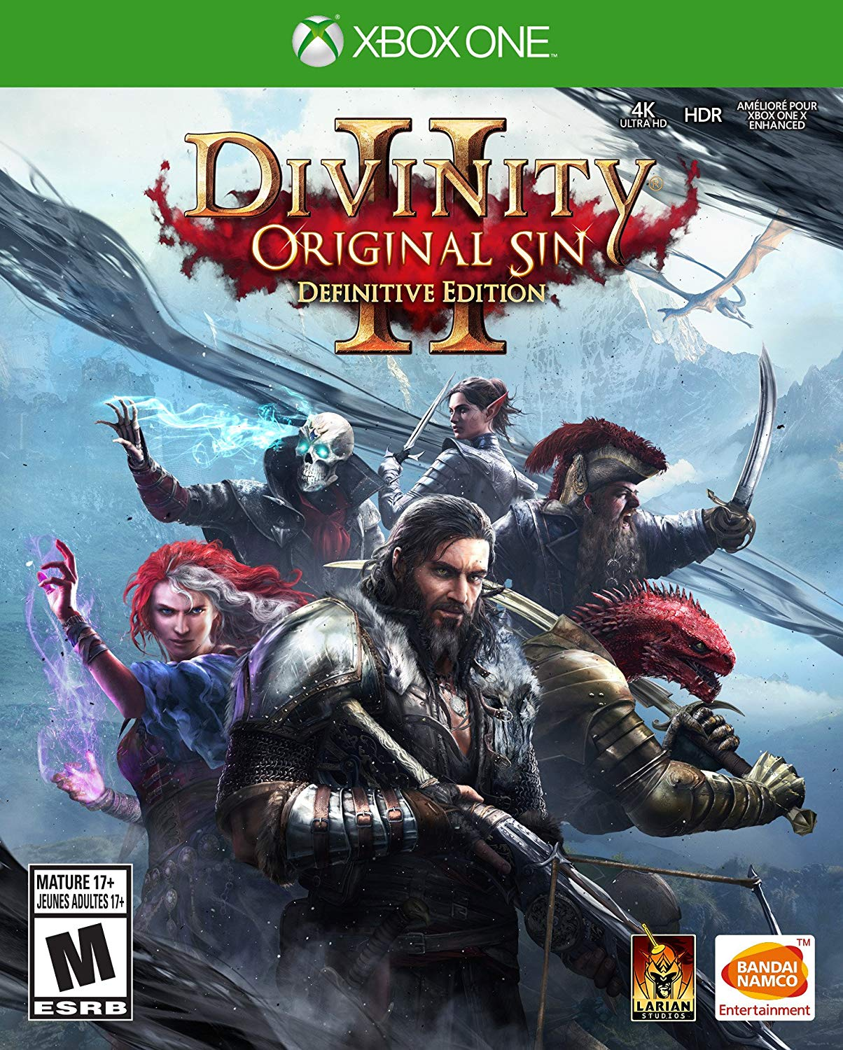 Divinity Original Sin 2 Definitive Edition - Xbox One Játékok