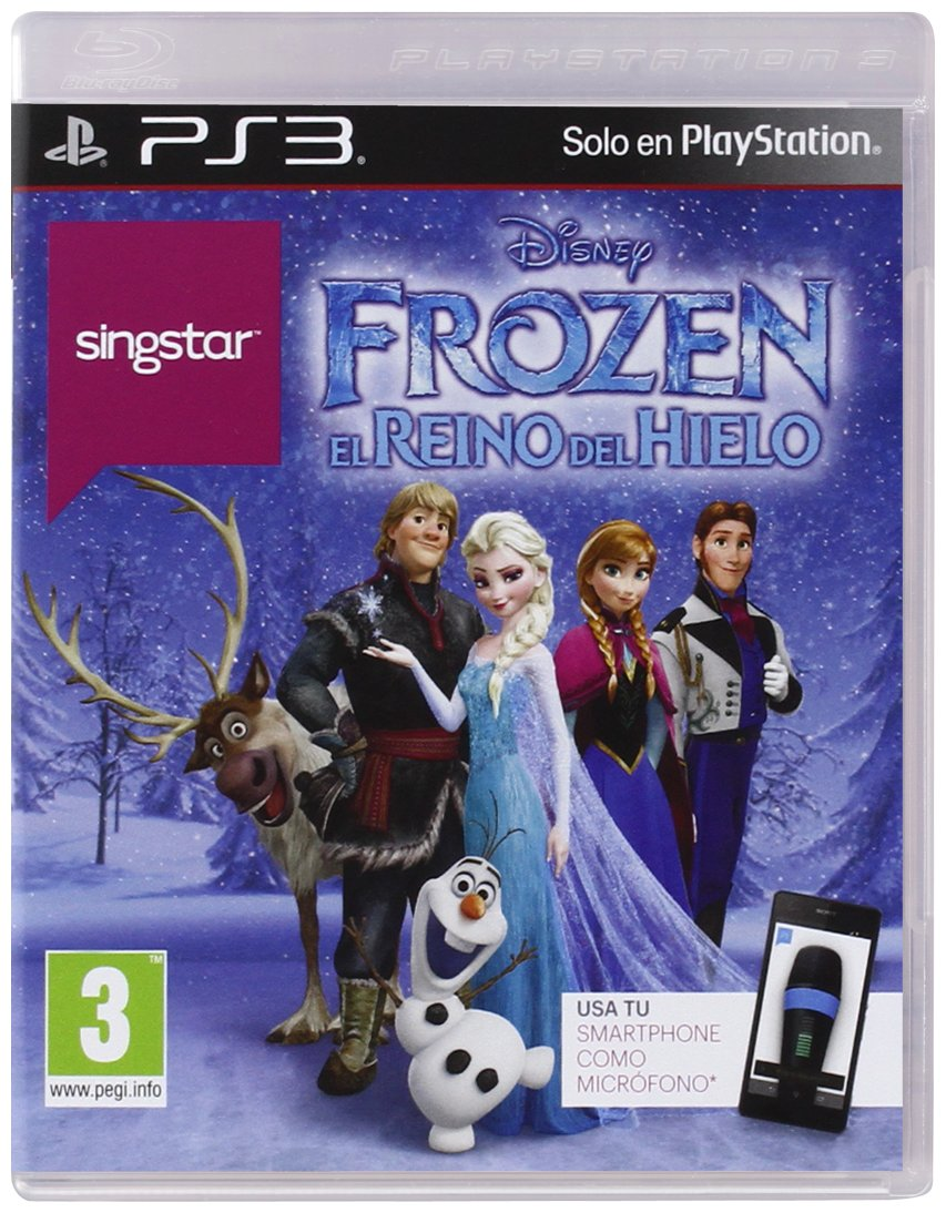 SingStar Disney Frozen - PlayStation 3 Játékok