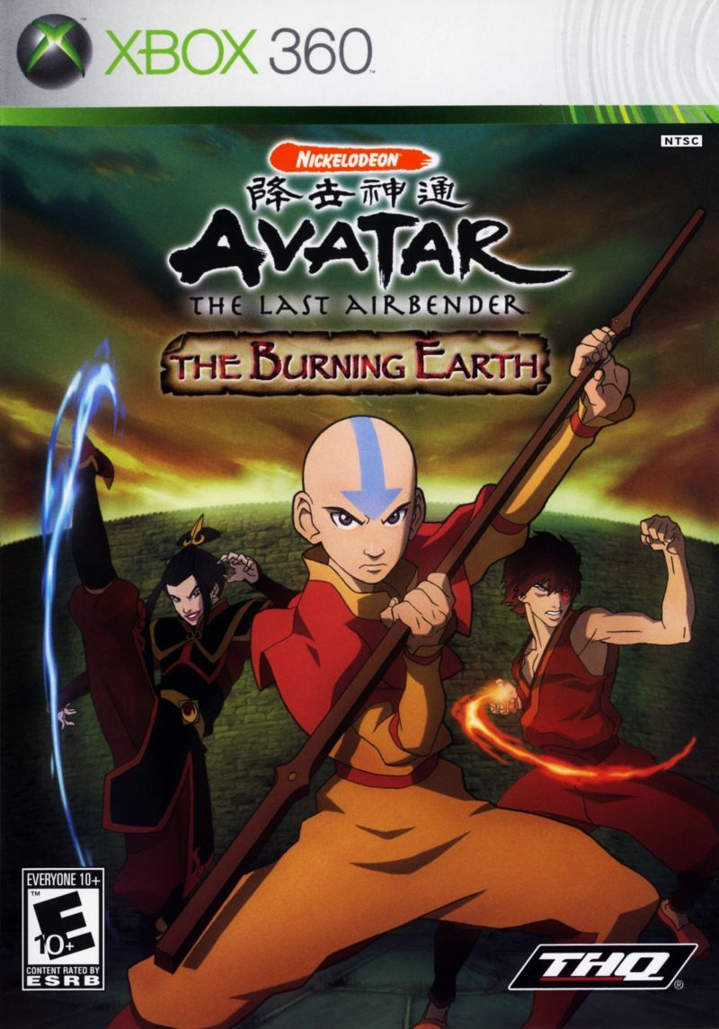 Nicelodeon Avatar The Legend Of Aang The Burning Earth