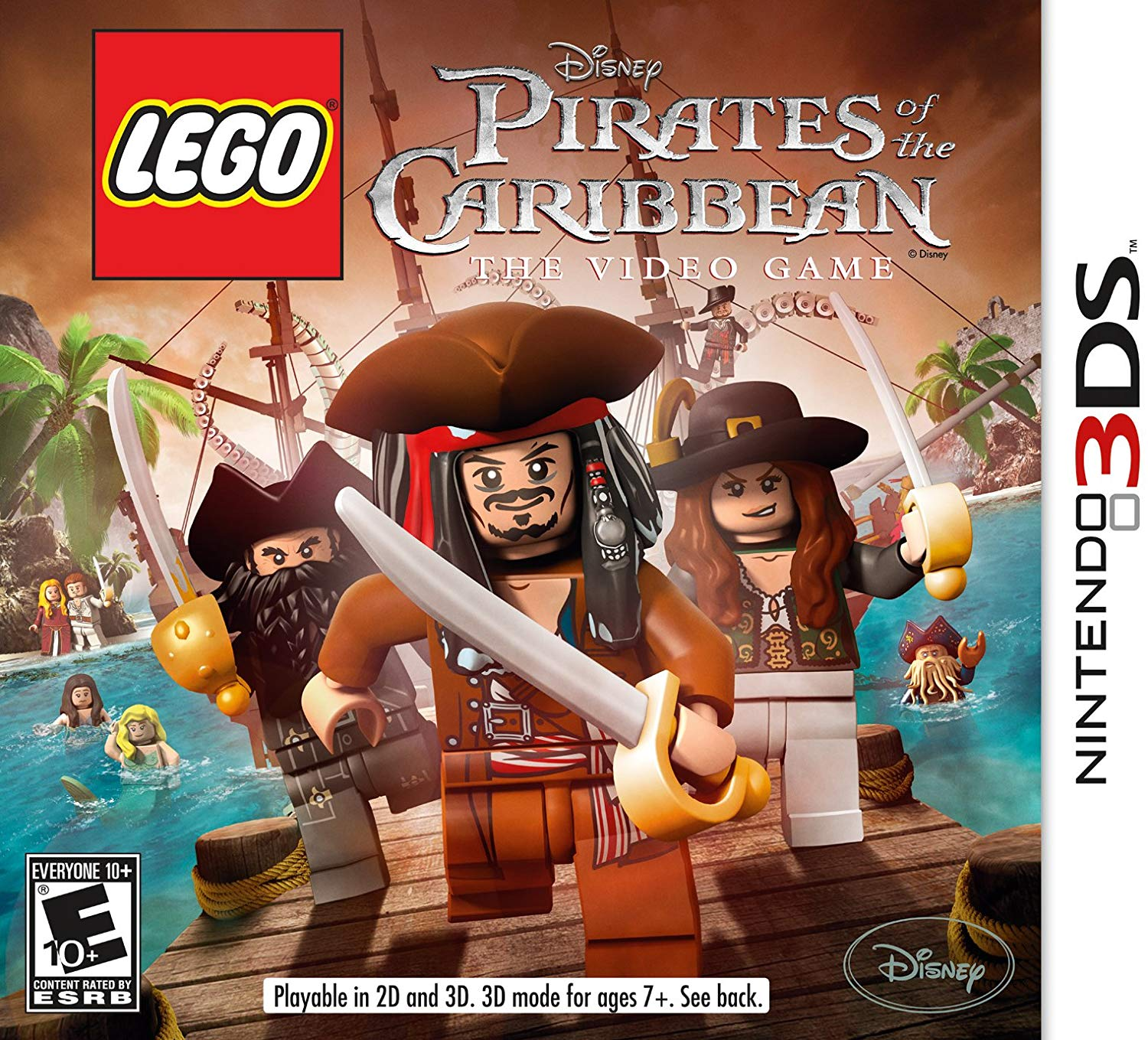 Lego Pirattes of the Caribbean The Video Game - Nintendo 3DS Játékok