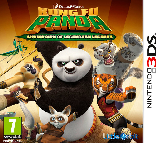 Dreamworks Kung Fu Panda Showdown of Legendary Legends