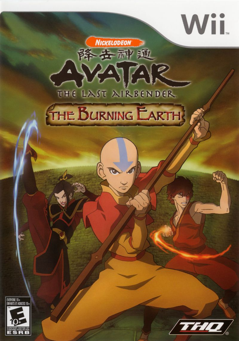 Avatar The Last Airbender The Burning Earth