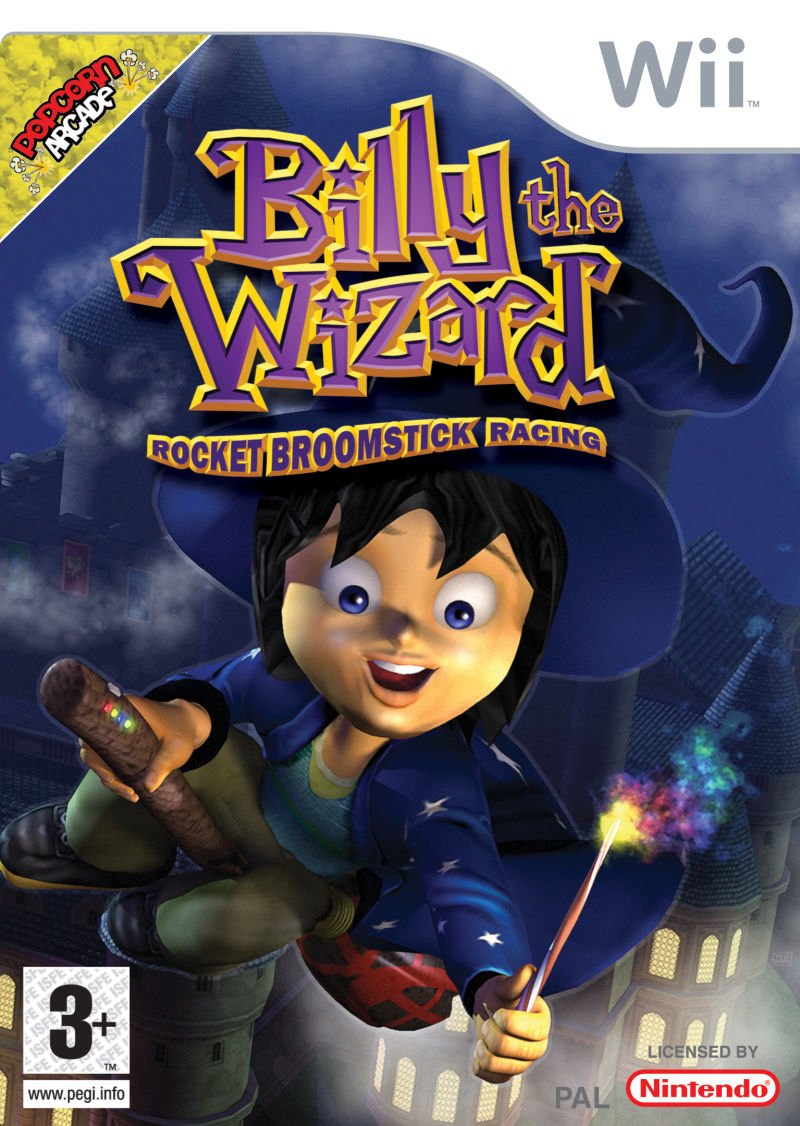 Billy The Wizard Rocket Broomstick Racing