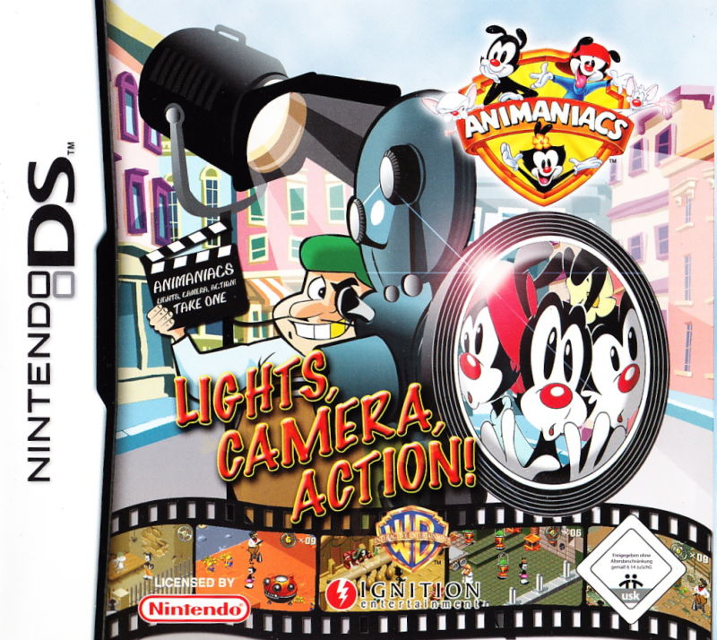 Animaniacs Lights, Camera, Action