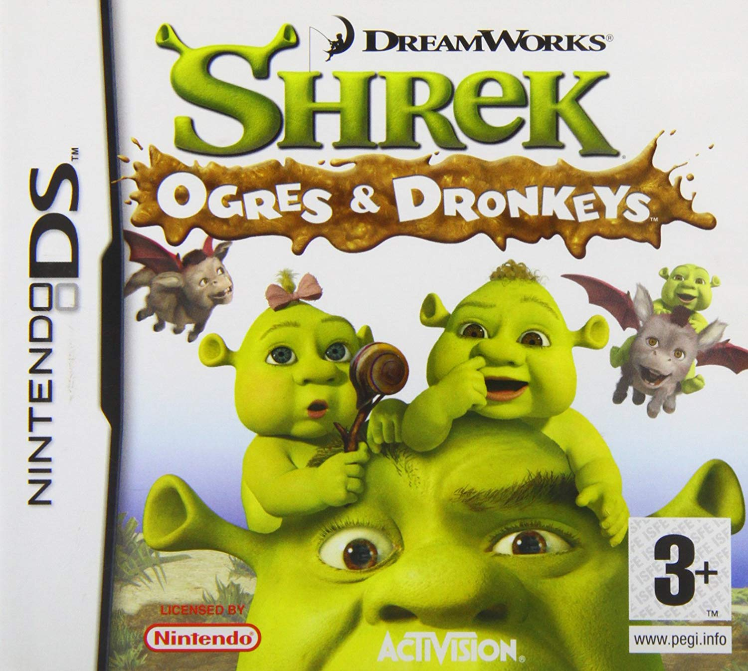 Dreamworks Ogres And Dronkeys - Nintendo DS Játékok