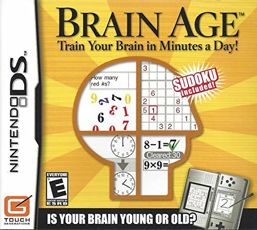 Brain Age Train Your Brain in Minutes a Day