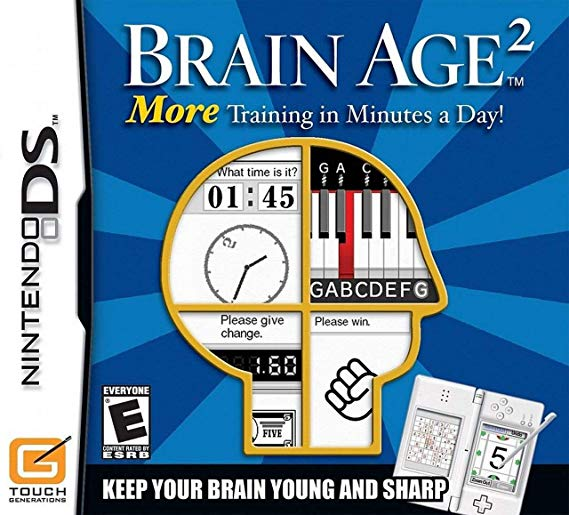 Brain Age 2 More Training in Minutes a Day - Nintendo DS Játékok