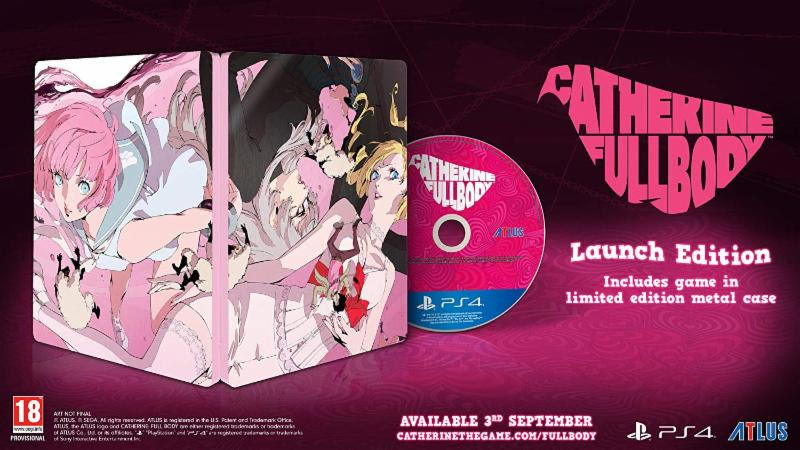 Catherine Full Body Launch Edition - PlayStation 4 Játékok