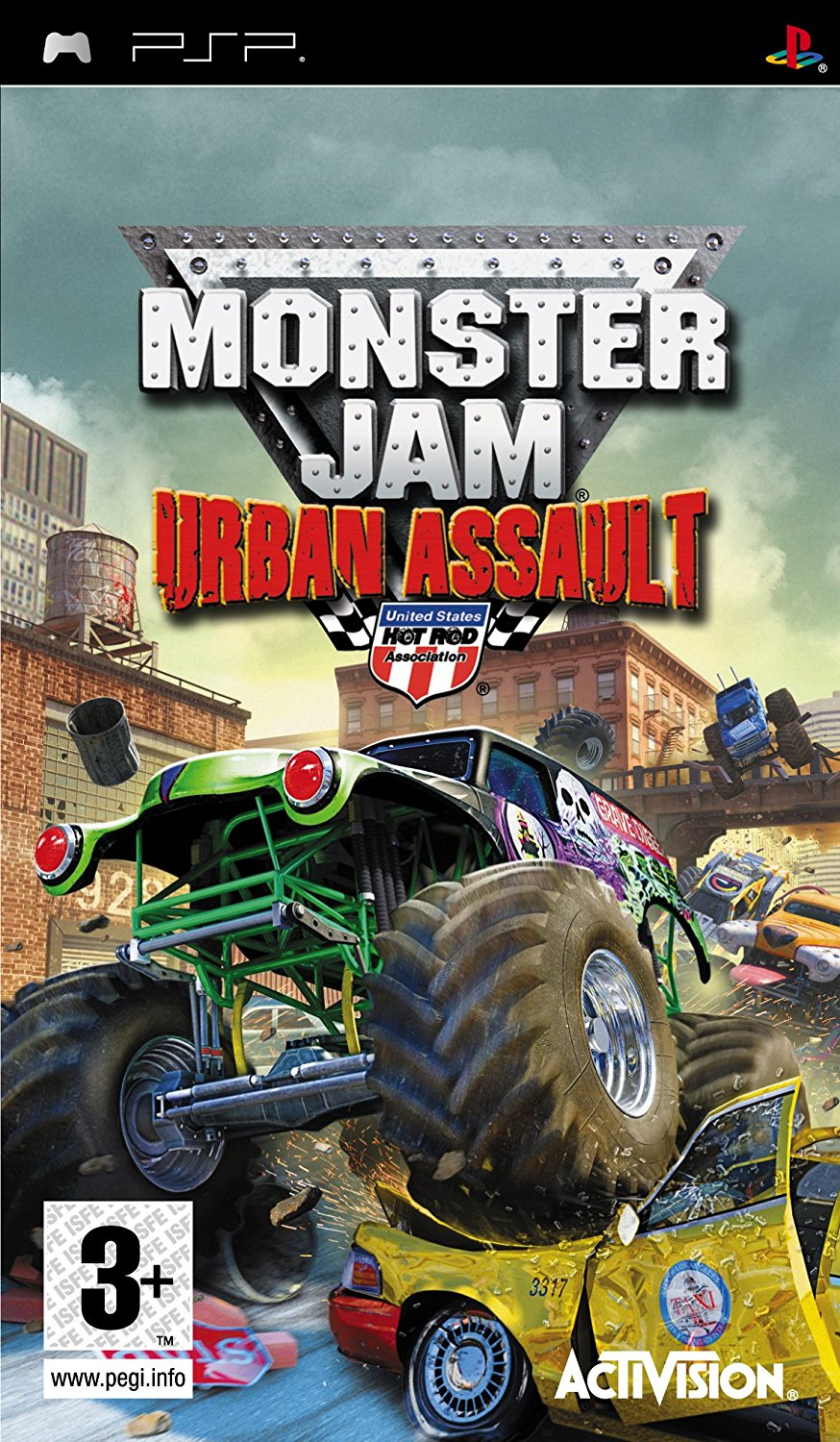 Monster Jam Urban Assault - PSP Játékok