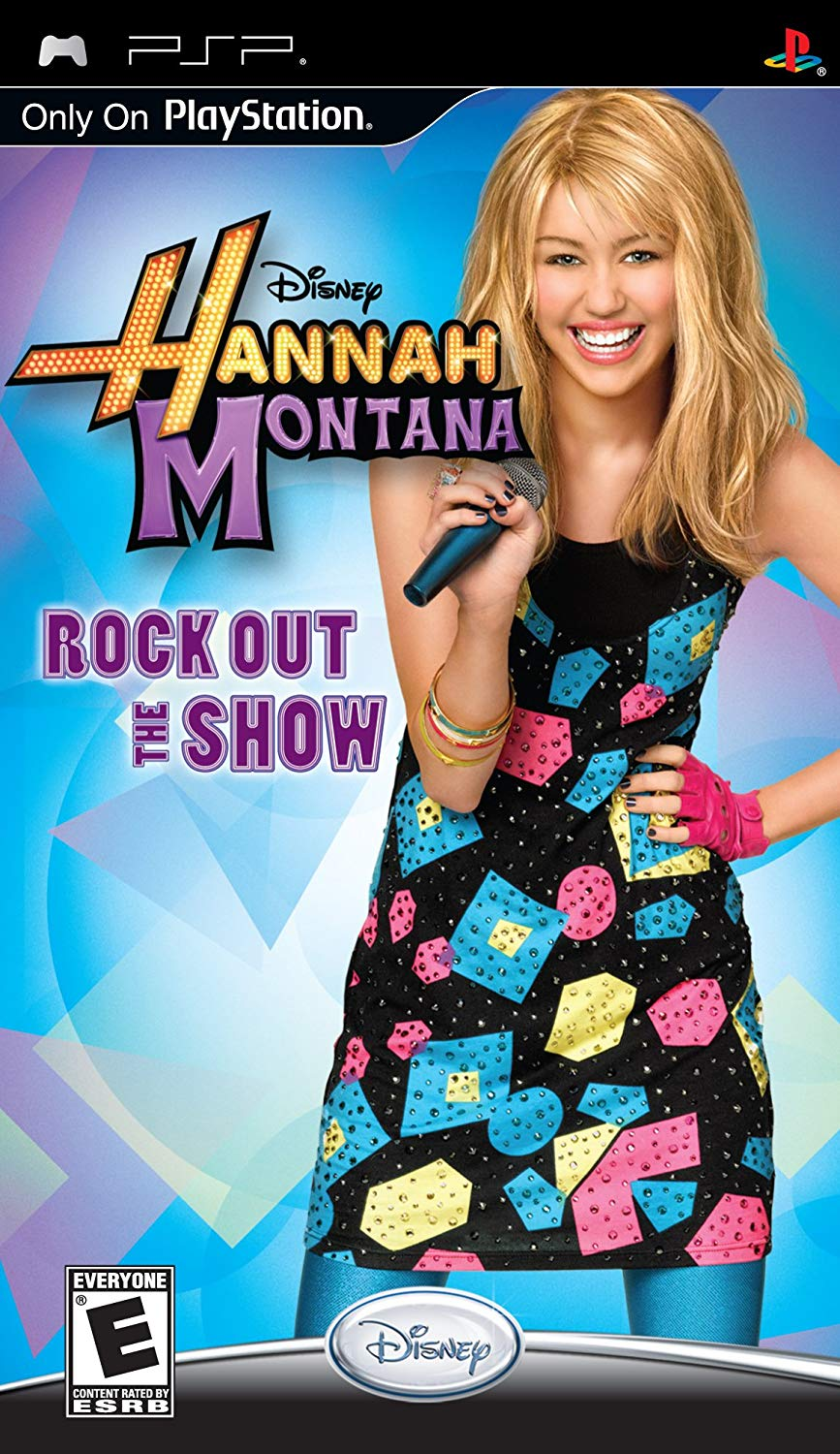 Disney Hannah Montana Rock Out The Show - PSP Játékok